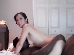 Beautiful wifey interracial amateur cuckold w hung BBC